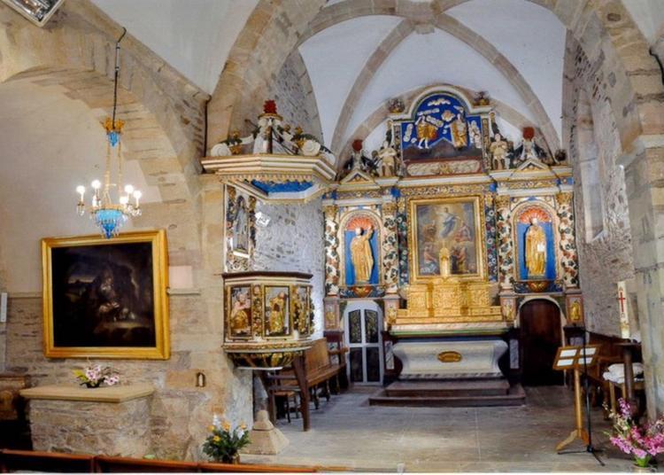 Visite Guidée De L'église Saint-sauveur-de-grandfuel à Comps la Grand Ville