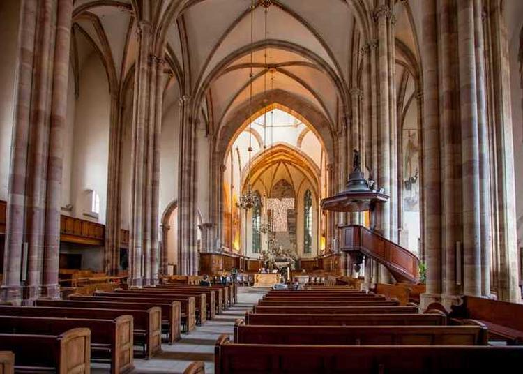 Visite Guidée De L'église Saint-thomas (nefs Et Choeur) à Strasbourg