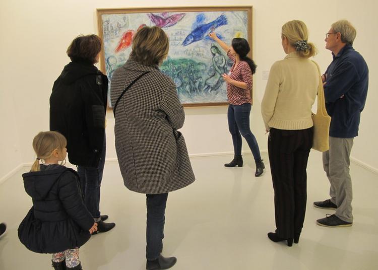 Visite Guidée De L'exposition Chagall, La Couleur Tombée Du Ciel à Ceret