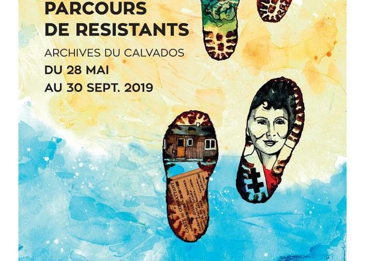 Visite Guidée De L'exposition Empreintes De Guerre - Parcours De Résistants. à Caen
