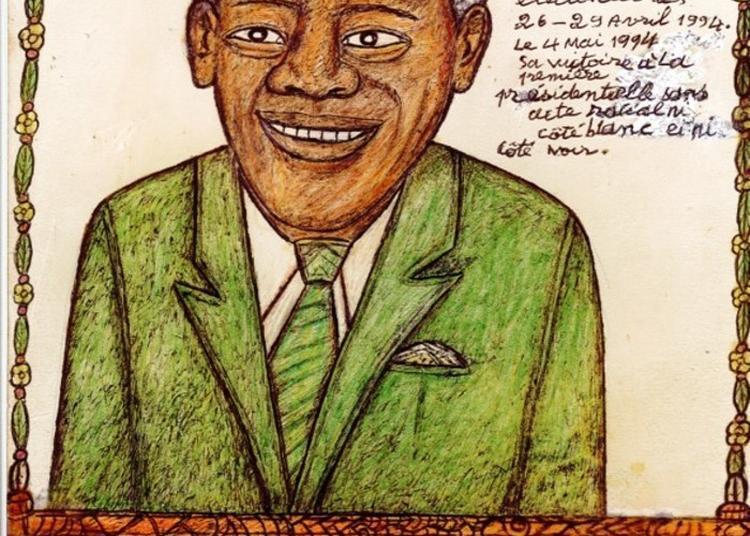 Visite Guidée De L'exposition Grandes Figures De L'histoire Contemporaine En Afrique, 42 Portraits De Dialiba Konaté à Bordeaux