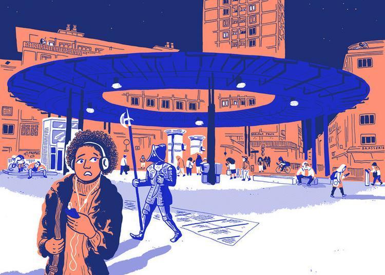Visite Guidée De L'exposition « Dans La Place, Illustrations D'ariane Pinel » à Strasbourg