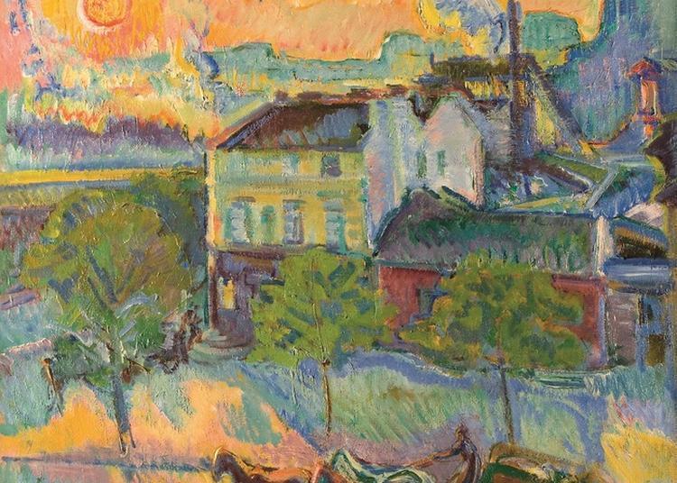 Visite Guidée De L'exposition Nicolas Tarkhoff. Impressions D'un Peintre Russe De Paris à Orsay à Mantes la Jolie