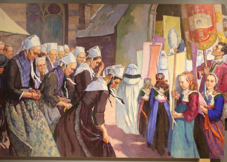 Visite Guidée De L'exposition Temporaire Regards De Femmes Au Musée De La Fraise Et Du Patrimoine à Plougastel Daoulas