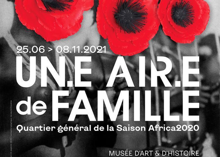 Visite Guidée De L'exposition Un.e Air.e De Famille à Saint Denis