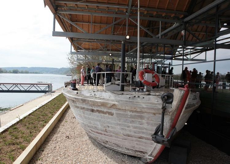 Visite Guidée De L'intérieur De La Cale De La Gribane à Caudebec en Caux
