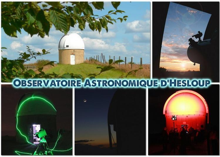 Visite Guidée De L'observatoire Astronomique D'hesloup à Heloup