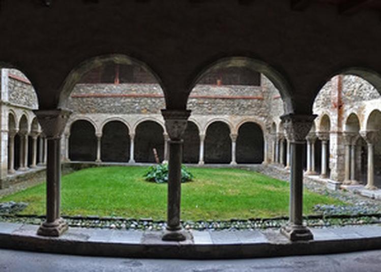Visite Guidée De La Cathédrale De Saint-lizier Et Du Cloître Roman à Saint Lizier