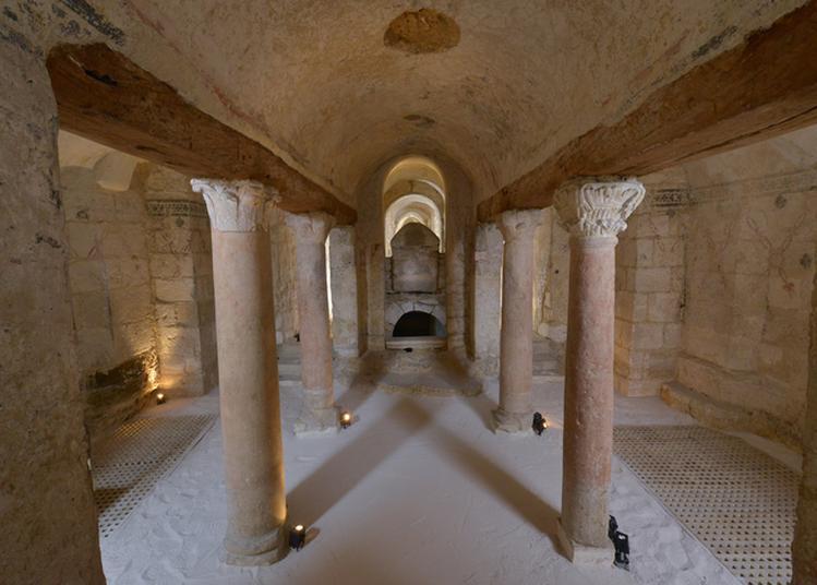 Visite Guidée De La Crypte De Saint Germain à Auxerre
