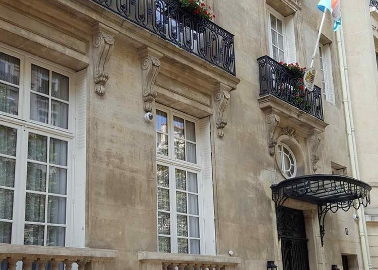 Visite Guidée De La Résidence De L'ambassadeur Du Grand-duché De Luxembourg à Paris 7ème