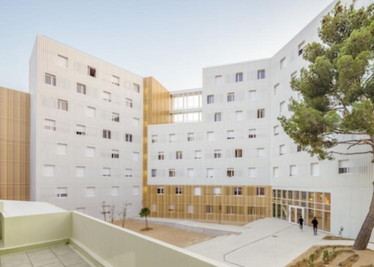Visite Guidée De La Résidence Universitaire Lucien Cornil. à Marseille