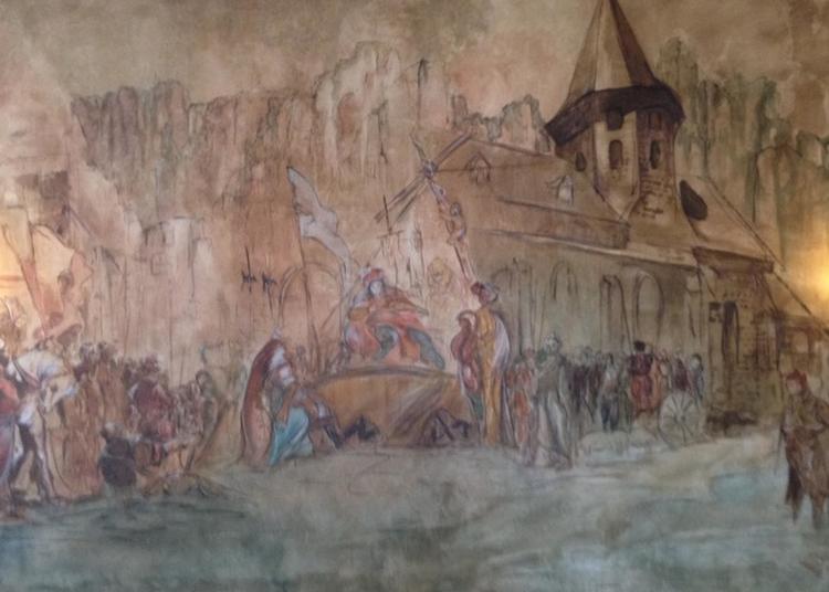 Visite Guidée De La Salle D'honneur De La Mairie, à Vic sur Cere
