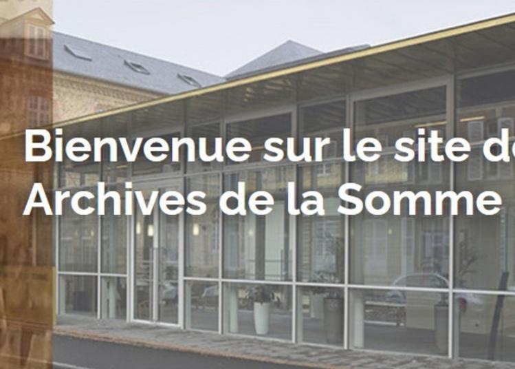 Visite Guidée Des Archives De La Somme : Site Saint-fuscien à Amiens