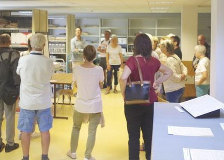 Visite Guidée Des Archives Départementales De La Haute-savoie à Annecy
