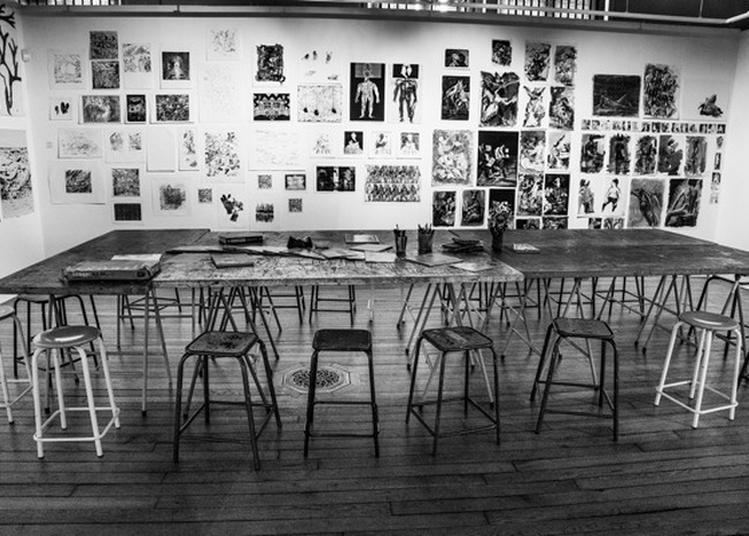 Visite Guidée Des Ateliers De La Maison Des Arts, Ouverte Exceptionnellement à Evreux