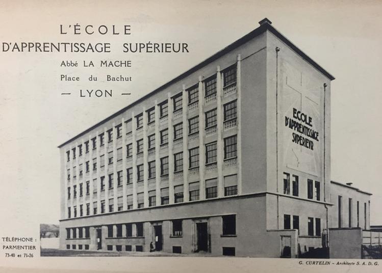 Visite Guidée Des Bâtiments Construits En 1934-36 Par Georges Curtelin à Lyon