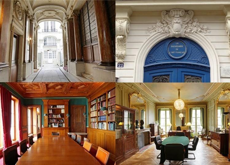 Visite Guidée Des Bureaux De La Fondation Pour La Sauvegarde De L'art Français à Paris 9ème