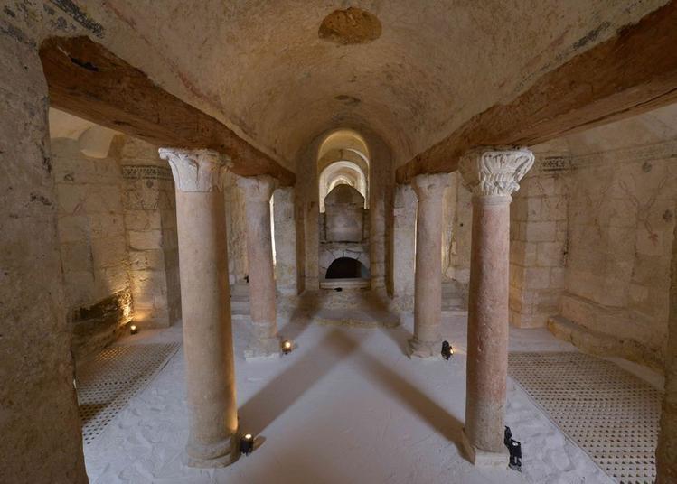 Visite guidée des cryptes de l'Abbaye Saint-Germain à Auxerre