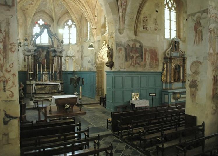Visite Guidée Des Fresques Murales De L'église Saint-léger à Montherme