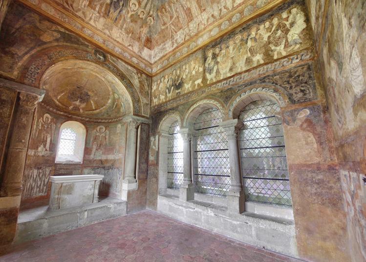 Visite Guidée Des Fresques Romanes à Saint Chef
