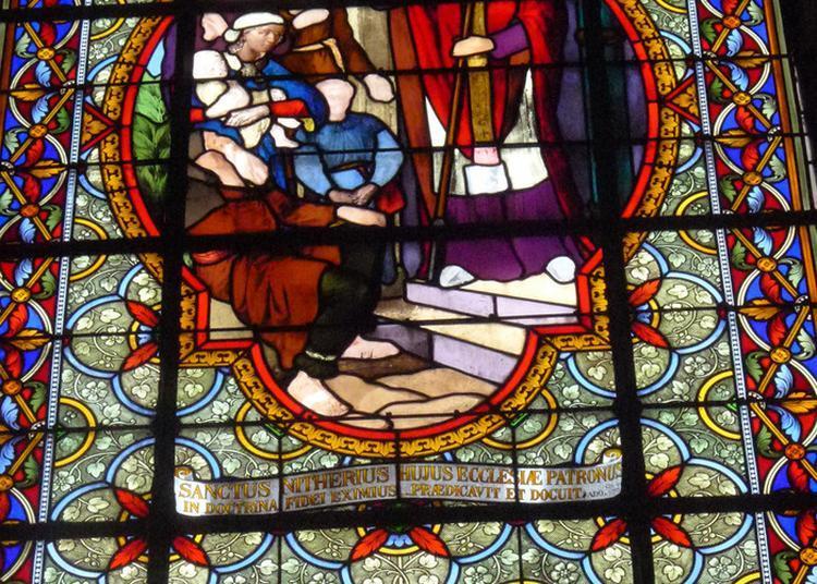 Visite Guidée Des Vitraux De L'église De Clairvaux-les-lacs à Clairvaux les Lacs
