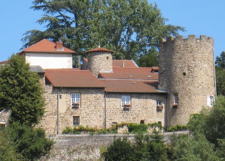 Visite Guidée Du Bourg Médiéval D'aurec, Des Châteaux Et Des Peintures Murales. à Aurec sur Loire