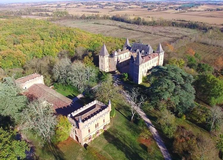 Visite Guidée Du Château De Caumont Et Son Parc à Cazaux Saves