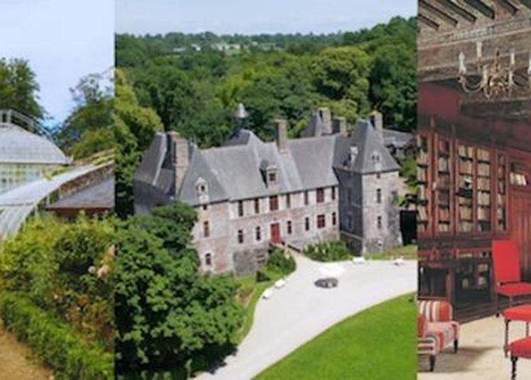 Visite Guidée Du Château De Cerisy-la-salle à Cerisy la Salle