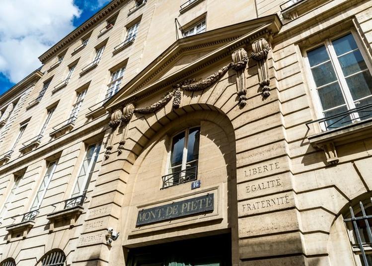 Visite Guidée Du Crédit Municipal De Paris à Paris 4ème