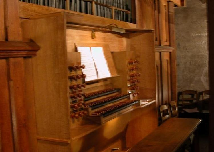 Visite Guidée Du Grand Orgue Par L'association Les Amis De L'orgue à Lagny sur Marne