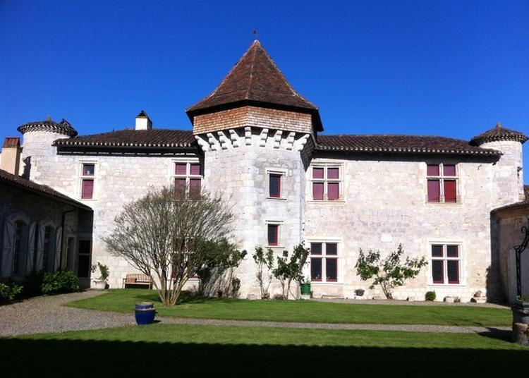 Visite Guidée Du Manoir De Prades à Lafox