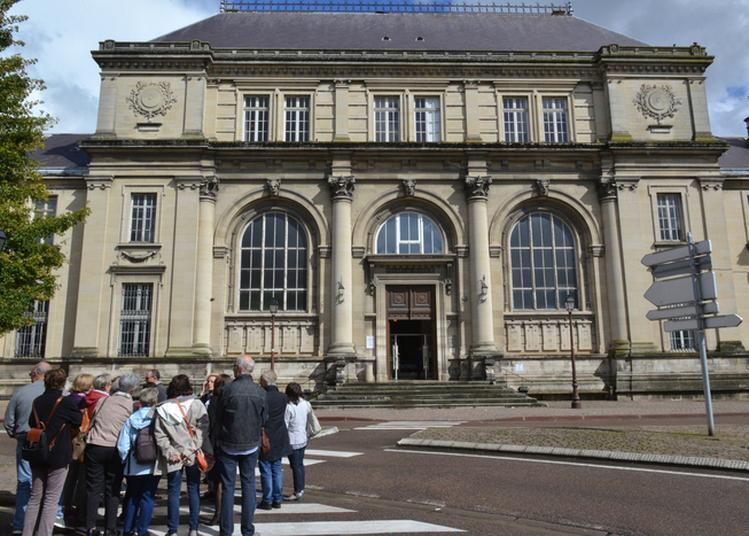 Visite Guidée Du Palais De Justice à Chalons en Champagne