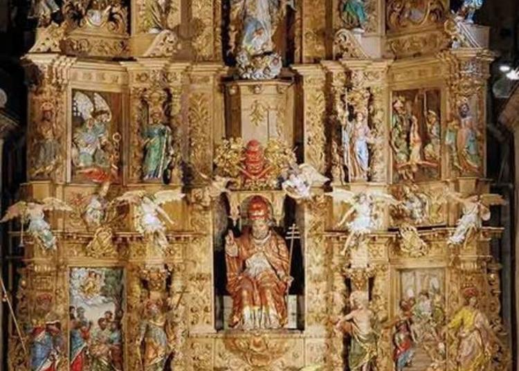 Visite Guidée Du Plus Grand Retable Baroque De France à Prades