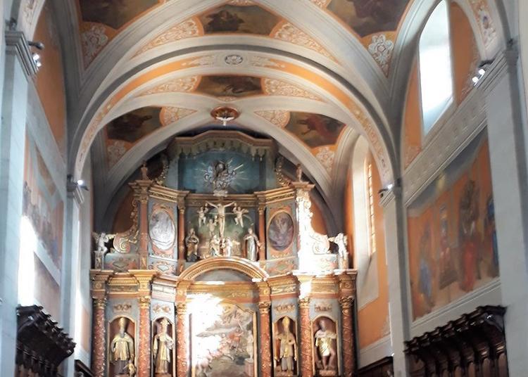 Visite Guidée Du Retable De L'église St Maurice à Thones