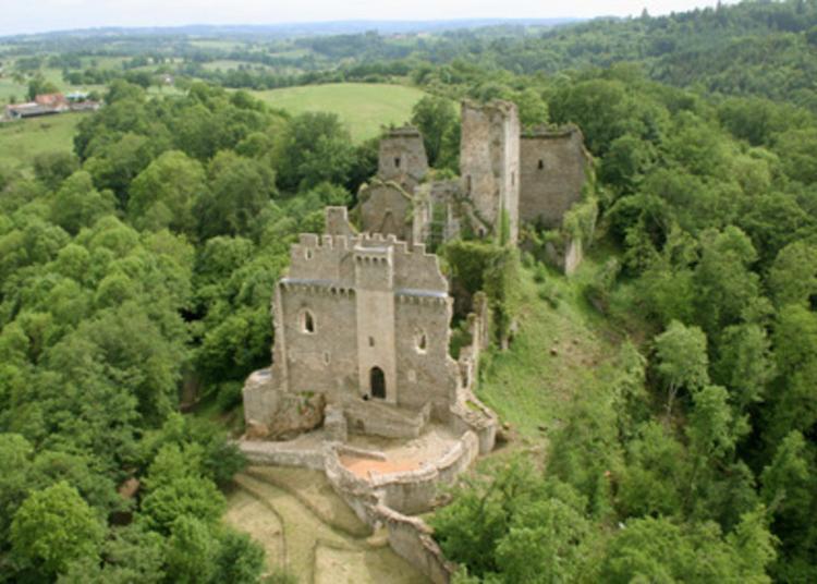 Visite Guidée Du Site Médiéval De Châlucet à Saint Jean Ligoure