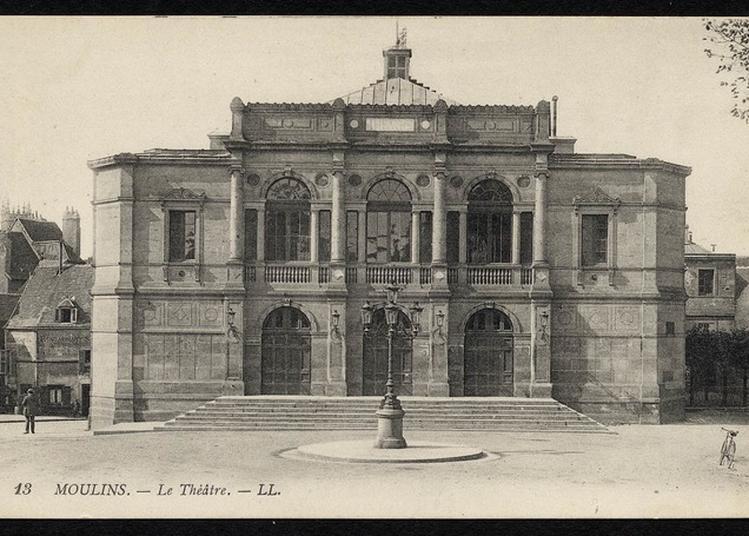 Visite Guidée Du Théâtre à Moulins