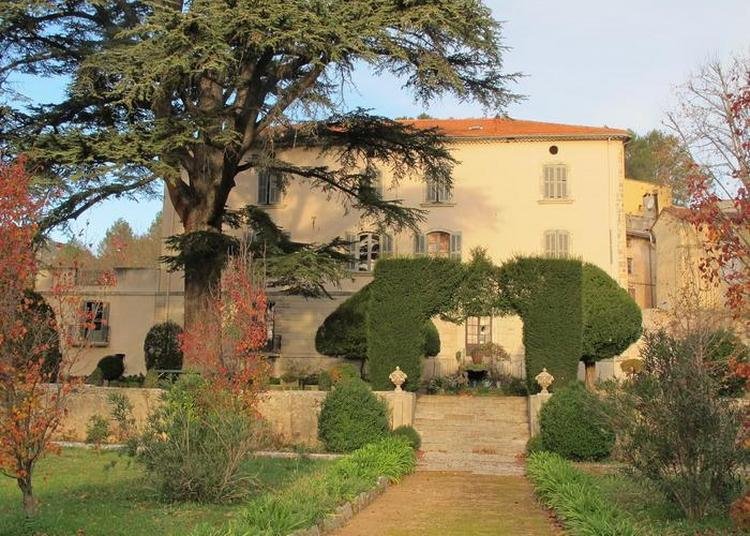 Visite Guidée En Groupe Du Parc Et De L'entrée Du Château Peiresc : Peiresc à Belgentier