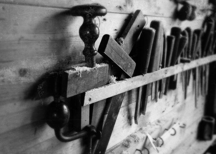 Visite Guidée Et Découverte Des Anciens Métiers : La Menuiserie Et La Forge De L'abbaye. à Le Plantay