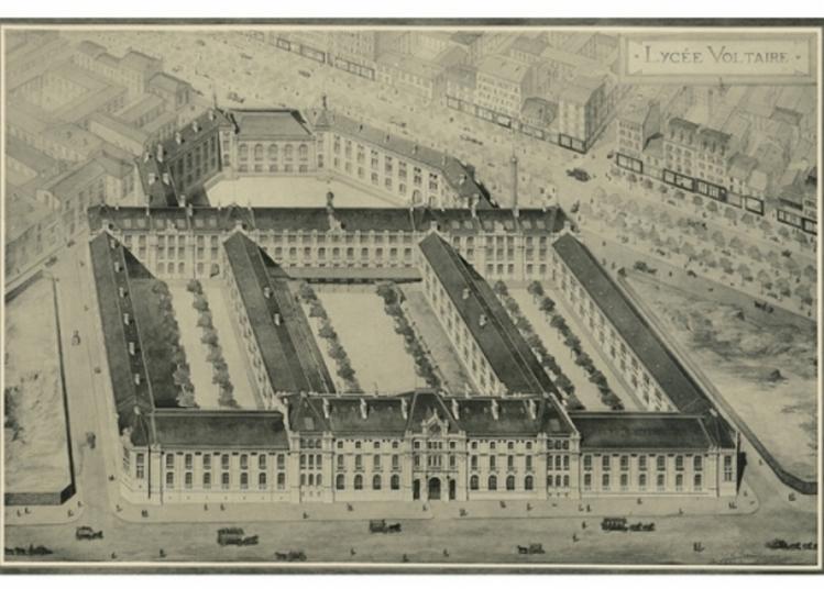 Visite Guidée Et Historique Du Lycée Voltaire à Paris 11ème