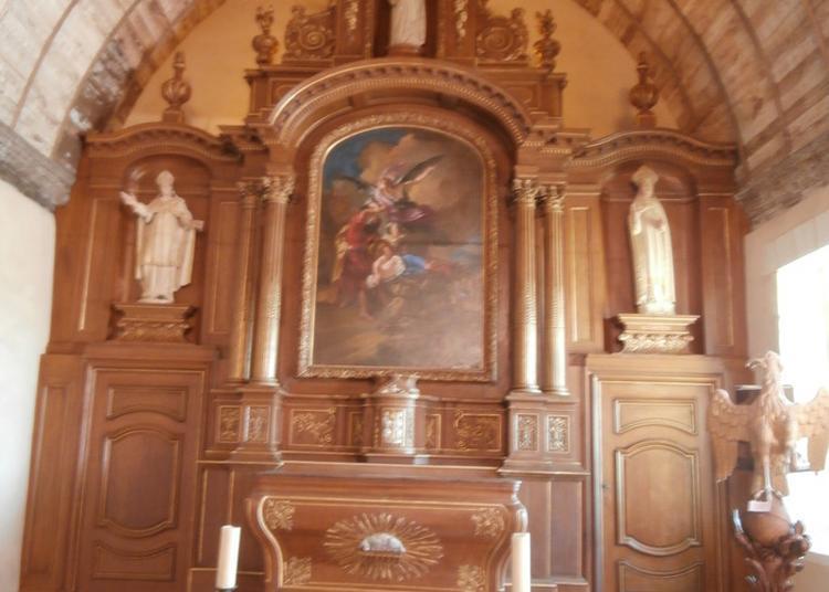 Visite Guidée Et Présentation Des Travaux De Restauration Du Retable Majeur De L'église Saint-martin à Crosville la Vieille