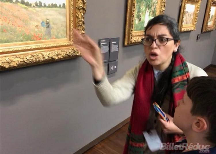 Visite Guidée : Impressionnisme à Orsay Pour Enfants à Paris 7ème