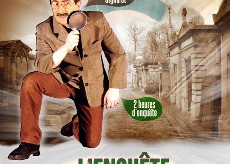 Visite Guidee : L'enquete Du Pere Lachaise à Paris 20ème