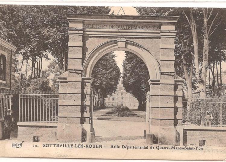 Visite Guidée L'histoire De La Psychiatrie Dans L'architecture Dans Le Parc Du Centre Hospitalier Du Rouvray à Sotteville les Rouen