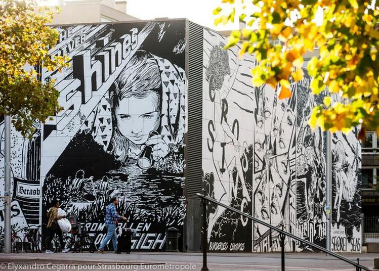 Visite Guidée  « Gare X Street Art » à Strasbourg