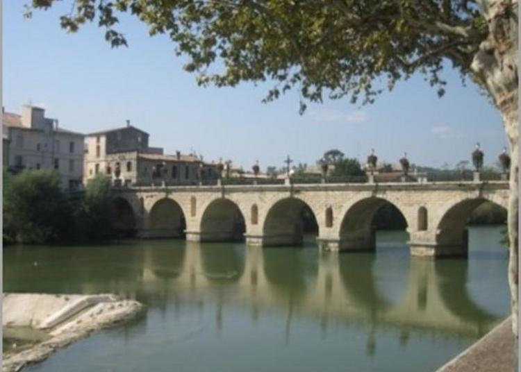 Visite Guidée Le Pont Romain De Sommières à Sommieres