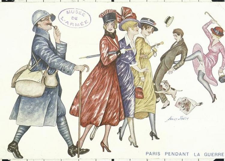 Visite Guidée : Les Femmes Et La Guerre (1914-1918) à Paris 7ème