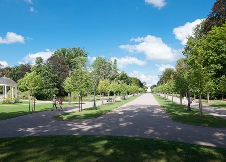 Visite Guidée Parc De L'orangerie à Strasbourg