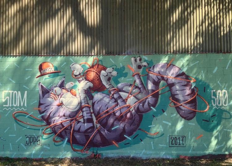 Visite Guidée Street Art Au Port Du Rhin à Strasbourg