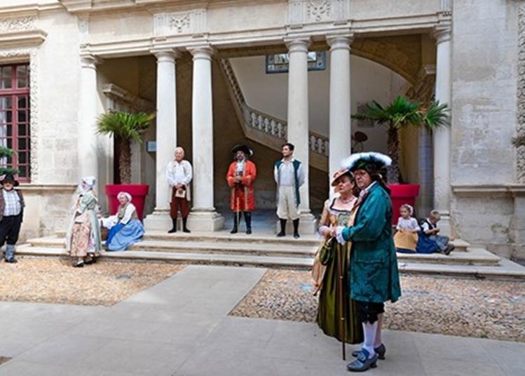 Visite Guidée Théâtralisée Et Costumée Jonquières-saint-vincent à Travers Les Siècles à Jonquieres saint Vincent