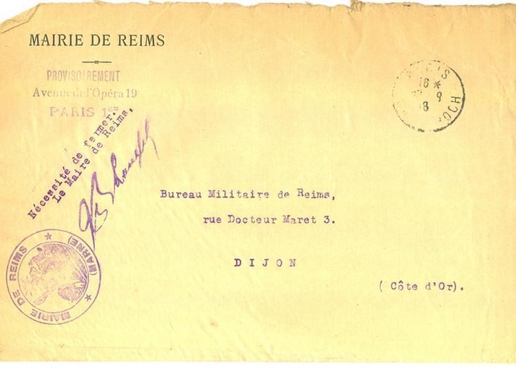 Visite Guidées Des Archives Municipales à Reims